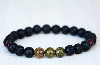 ZASU Lava black focus bracelet
