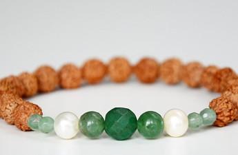 biseri, rudrakša, nakit za ljubav, poklon za valentinovo, zasu, trend nakit