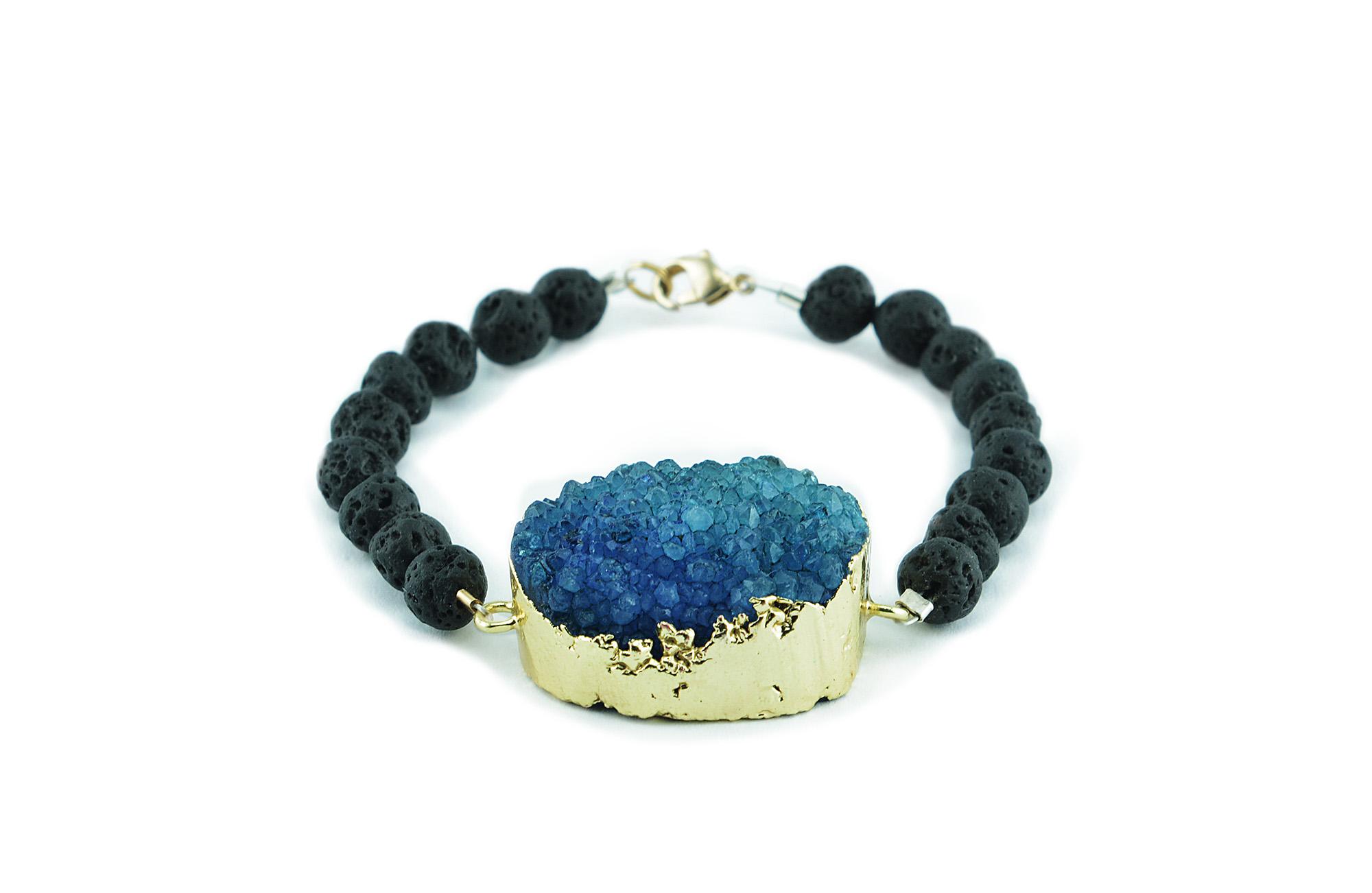 ZASU blue quartz lava