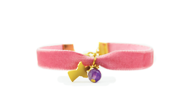 ZASU bracelet pink angel