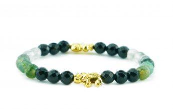 green elephant bracelet zasu