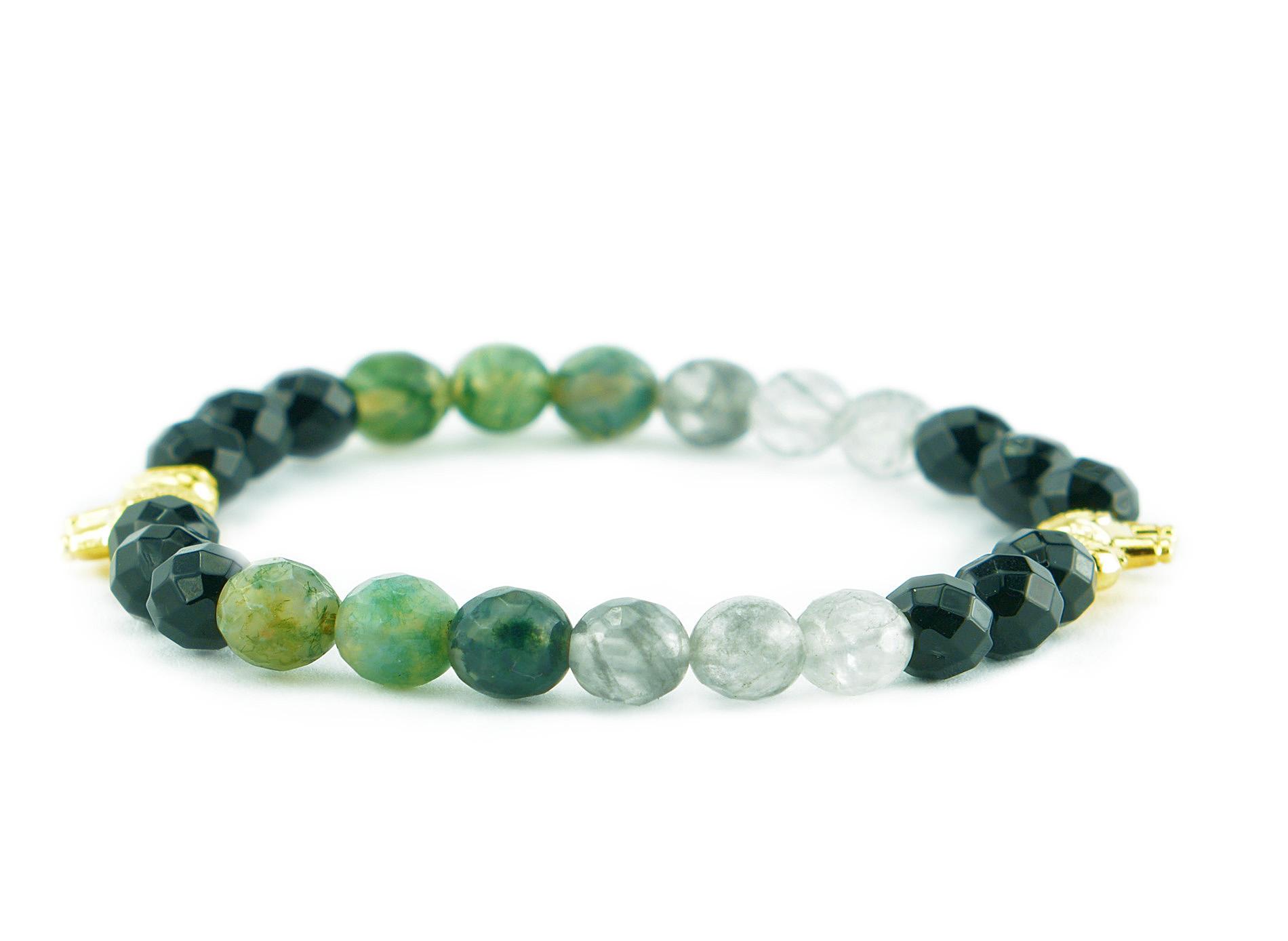 green elephant bracelet zasu1