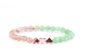 green heart bracelet zasu_rg