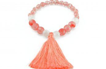 pink tassel bracelet zasu1