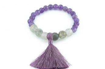 purple tassel bracelet zasu2