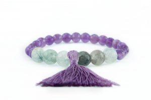 purple tassel bracelet zasu3